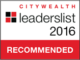 Citywealth Leaders List 2016 - London Central Portfolio Limited