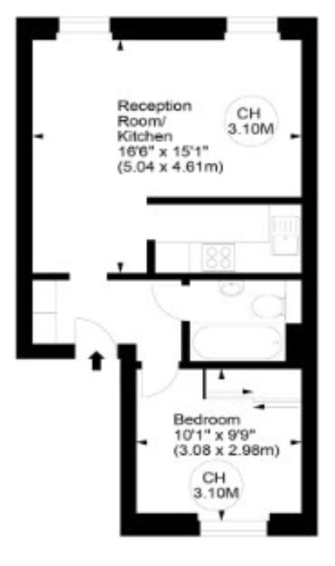 Renovating a period property in prime London (floor plan/before) - London Central Portfolio Limited