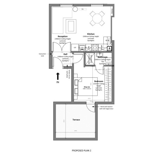 Freehold block investment (floor plan) - London Central Portfolio Limited