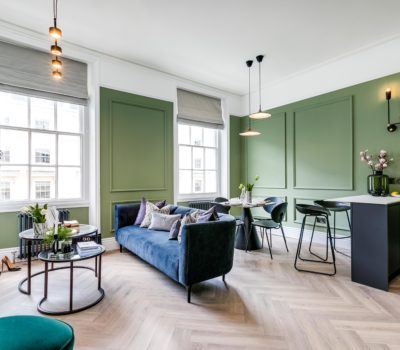 Case study: Renovating a period property in prime London - London Central Portfolio Limited