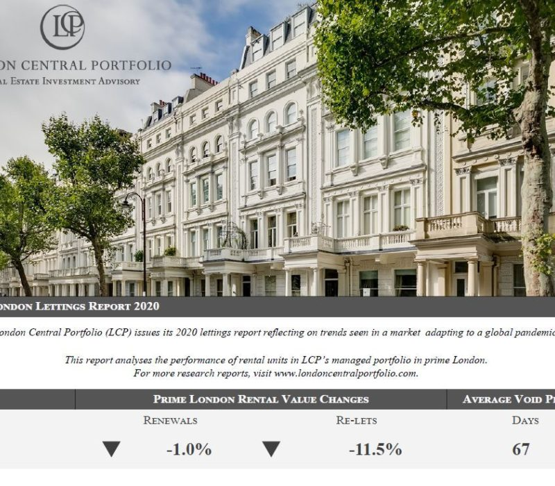 LCP's Prime London Lettings Report 2020 - London Central Portfolio Limited
