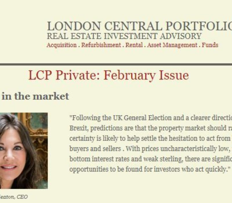 LCP Private February 2020 - London Central Portfolio Limited