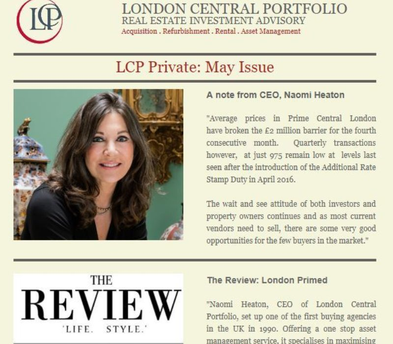LCP Private May 2018 - London Central Portfolio Limited