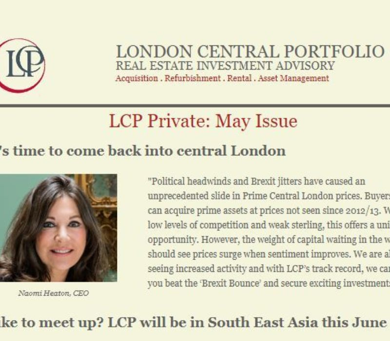 LCP Private May 2019 - London Central Portfolio Limited