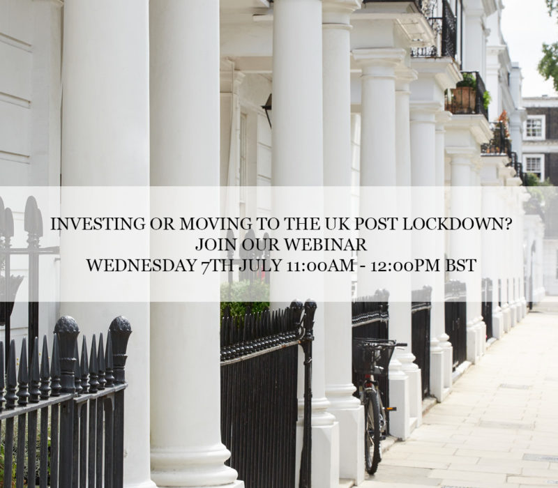 LCP Private Middle East Series: Investing or Moving to the UK Post Lockdown? - London Central Portfolio Limited