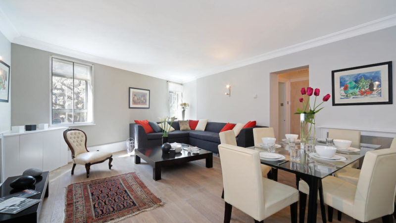 3 bed flat to let, Macready House, Crawford Street - London Central Portfolio Limited