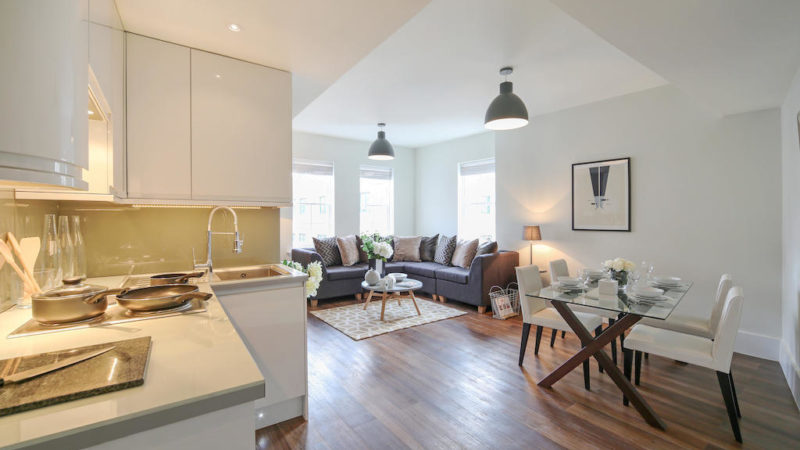 1 bed flat to let, Durham House, John Adam Street - London Central Portfolio Limited