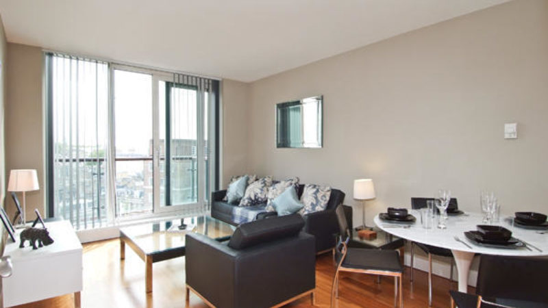 1 bed flat to let, Westcliffe Apartments, South Wharf Road - London Central Portfolio Limited