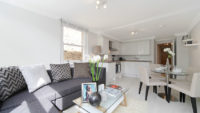 1 bed flat to let, St Stephen's Gardens - London Central Portfolio Limited
