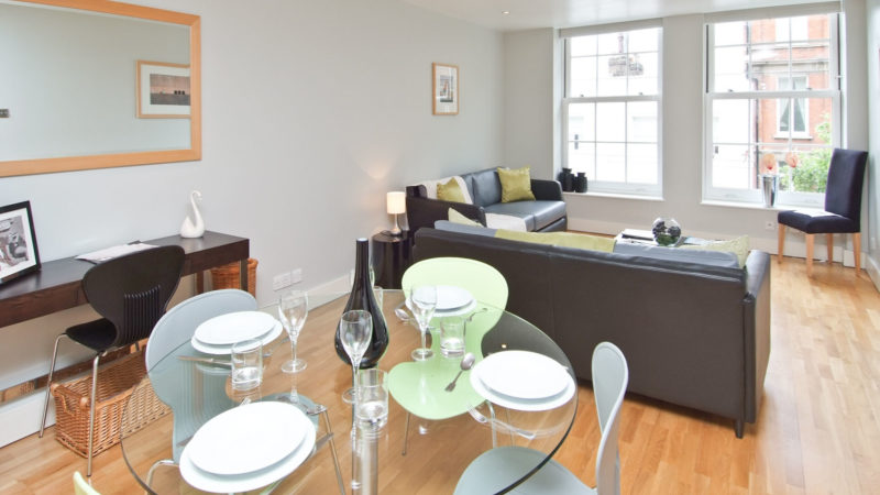 1 bed flat to let, The Baynards, Chepstow Place - London Central Portfolio Limited